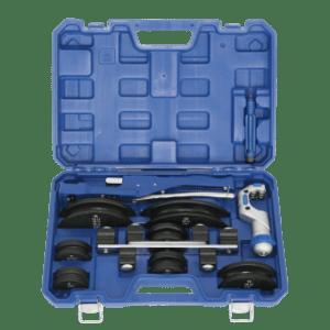 CT — 999 RF     Трубогиб  арбалетного типа с реверсом  3/8 ~ 7/8, 10 ~ 22 мм + труборез  + риммер